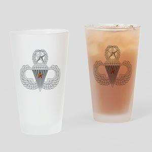 Master Airborne Combat Jump Drinking Glass