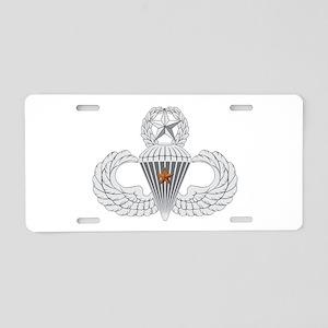 Master Airborne Combat Jump Aluminum License Plate