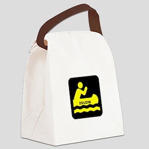 Douche Canoe Canvas Lunch Bag