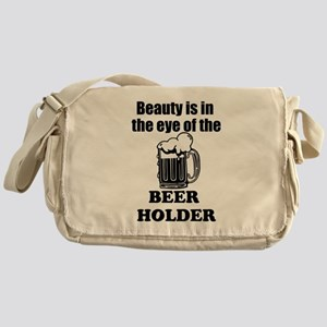 Eye Of The Beer Holder Messenger Bag
