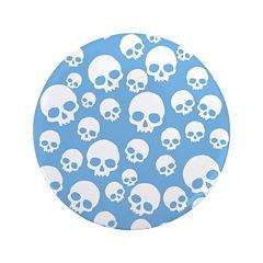 Light Blue Random Skull Pattern 3.5