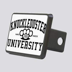 KnuckleDuster University Rectangular Hitch Cover