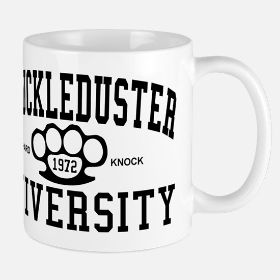 KnuckleDuster University Mug