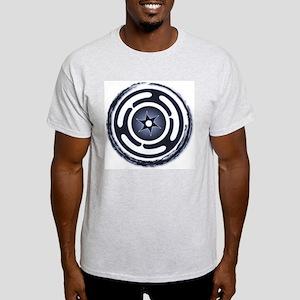 Blue Hecate's Wheel Light T-Shirt