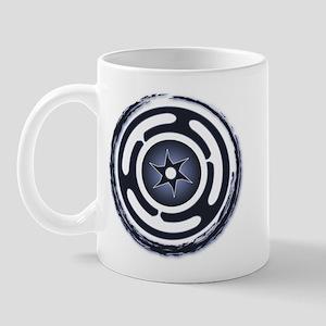 Blue Hecate's Wheel Mug