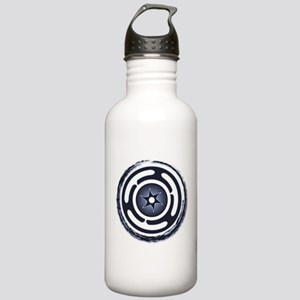 Blue Hecate's Wheel Stainless Water Bottle 1.0L