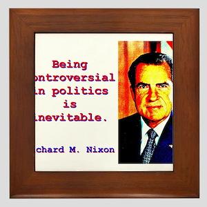 Being Controversial In Politics - Richard Nixon Fr
