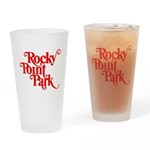 Rocky Point Park - Red Logo Drinking Glass