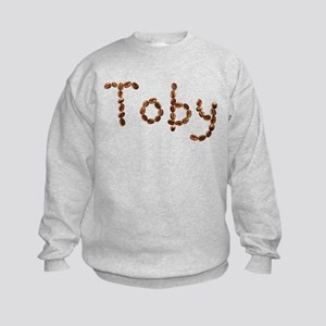 Toby Coffee Beans Kids Sweatshirt