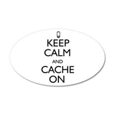 Keep Calm and Cache On Wall Decal