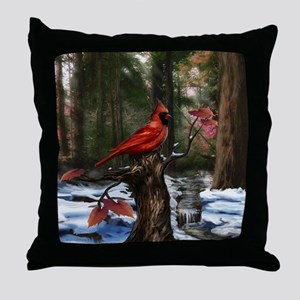 Cardinal Throw Pillow