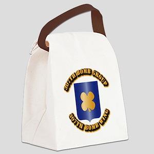 AAC - 307th BG,307th BW Canvas Lunch Bag