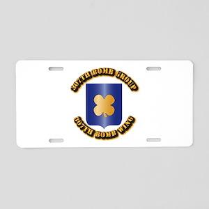AAC - 307th BG,307th BW Aluminum License Plate