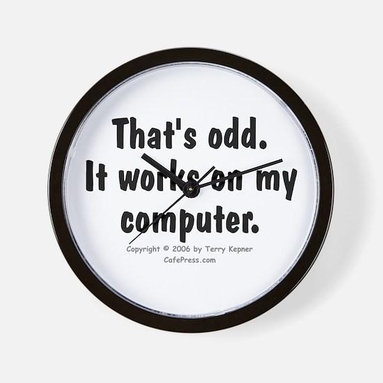 That's Odd... Wall Clock