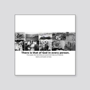 "That of God Square Sticker 3"" x 3"""