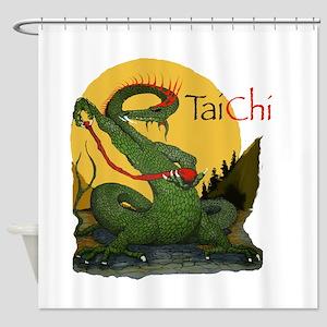 Taichi22a Shower Curtain