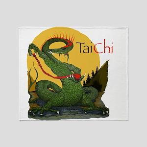 Taichi22a Throw Blanket