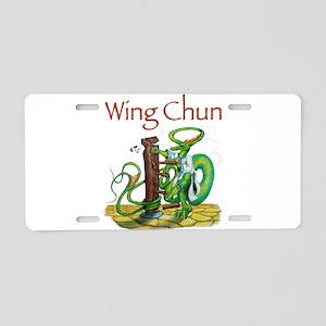 wingchunshirt Aluminum License Plate