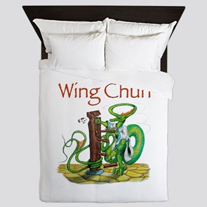wingchunshirt Queen Duvet