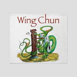wingchunshirt Throw Blanket