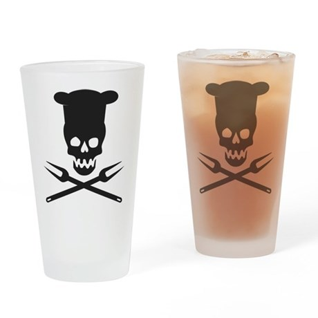 barbecue Drinking Glass