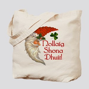 Merry Christmas (irish Gaelic) Tote Bag