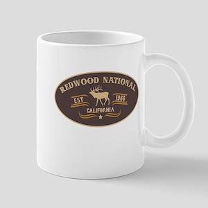 Redwood Belt Buckle Badge Mug