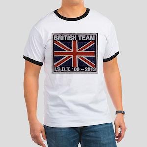 British Team ISDT badge replica 2013 Ringer T