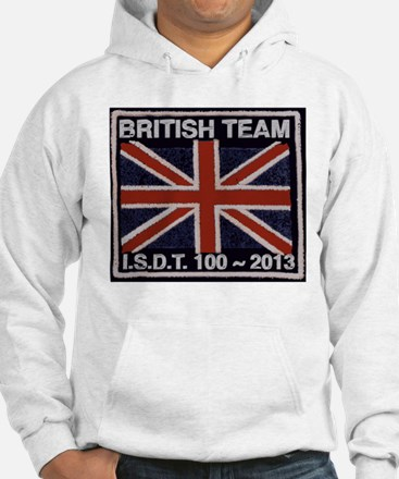 British Team ISDT badge replica 2013 Hoodie