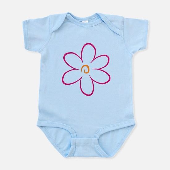 flower Infant Bodysuit
