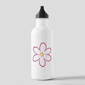 flower Stainless Water Bottle 1.0L