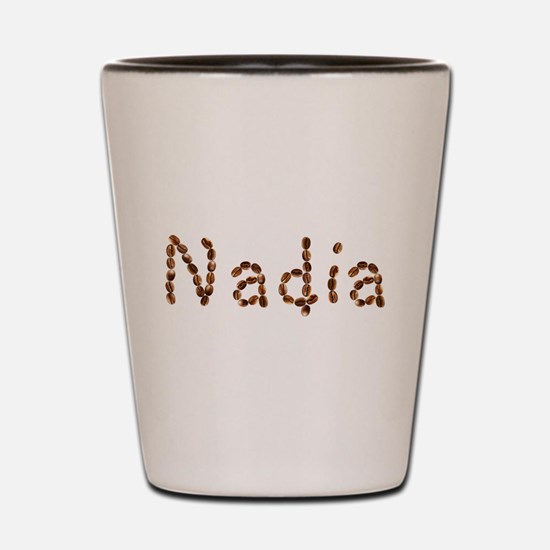 Nadia Coffee Beans Shot Glass