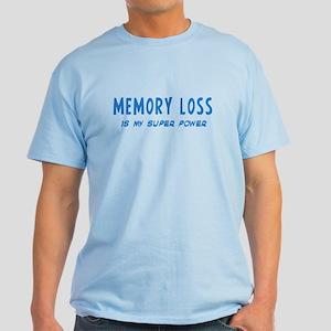 Super Power: Memory Loss Light T-Shirt