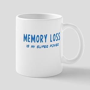 Super Power: Memory Loss Mug