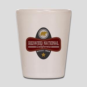 Redwood Natural Marquis Shot Glass