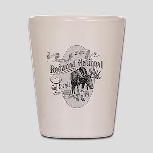 Redwood Vintage Moose Shot Glass