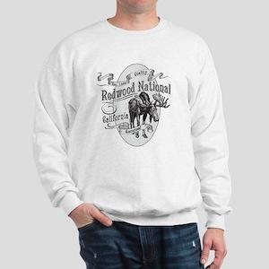 Redwood Vintage Moose Sweatshirt