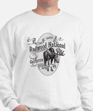 Redwood Vintage Moose Sweatshirt