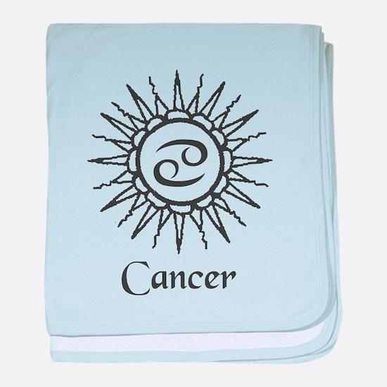 Astrology :: Cancer baby blanket
