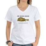 Stiff Fish Women's V-Neck T-Shirt