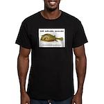 Stiff Fish Men's Fitted T-Shirt (dark)