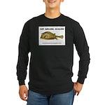 Stiff Fish Long Sleeve Dark T-Shirt