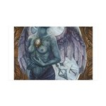 Make-Shift Angel III 35x21 Wall Decal
