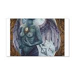 Make-Shift Angel III 20x12 Wall Decal