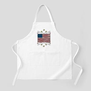 American Flag Apron