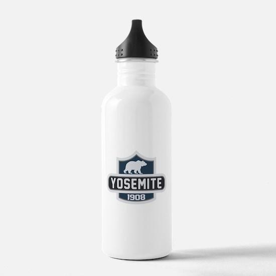Yosemite Blue Nature Crest Water Bottle