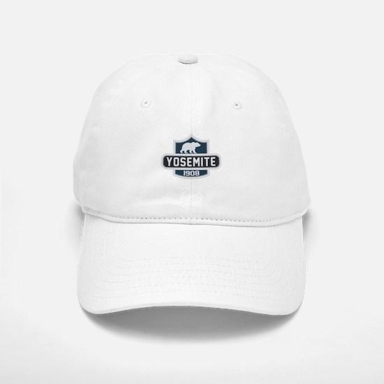 Yosemite Blue Nature Crest Baseball Baseball Cap