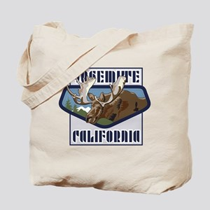 Yosemite Mountaintop Moose Tote Bag