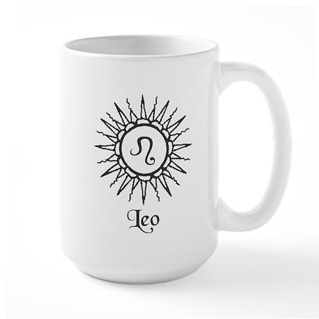 Astrology :: Leo Large Mug
