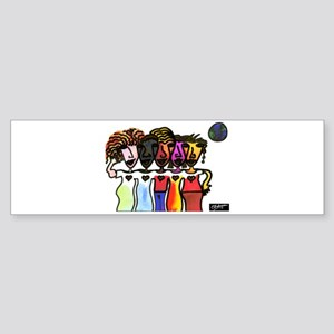 Beautiful Colors Sticker (Bumper)